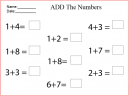 Writing Numbers 15 Worksheet