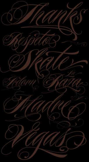 9c8856a8f4980 Free Printable Tattoo Fonts