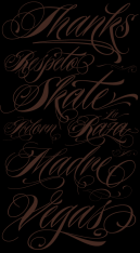 Free Printable Tattoo Fonts