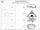 Kindergarten Following Directions Printables