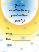 Skyline Printable Invitations