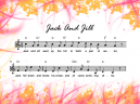 Jack and Jill Sheet Music Free