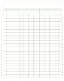 85 x 11 Graph Paper