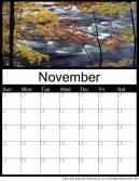 Printable November 2014 Calendars