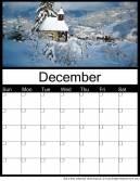 Printable December 2014 Calendars