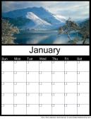 January 2015 Printable Calendar
