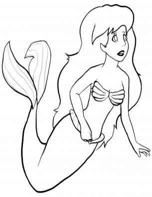 Little Mermaid Coloring