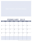Customize February 2015 Calendar