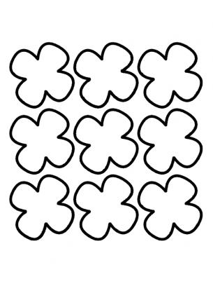 clover activities templates