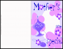 Mothers Day Greeting Card for a Special Mom