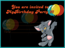 Furry Friend Birthday Invitation