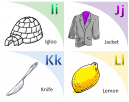 Illustrated Flash Cards Learning I - L