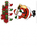 Merry Christmas Santa Claus Christmas Card