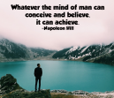 Motivational Quote from Napoleon Hill