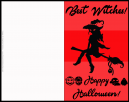 Free Best Witches Halloween Greeting Card
