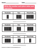 Place Value  Kids Worksheet