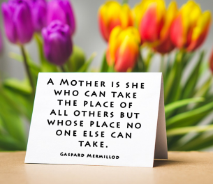 Mother's Day Quotes by Gaspard Mermillod