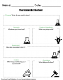 The Scientific Method Worksheets