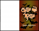 Chills and Thrills Halloween Card