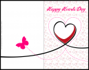 Happy Hearts Day - Valentine Card