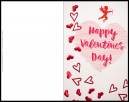 Cupid Valentines Card - make your own card - with Cupid