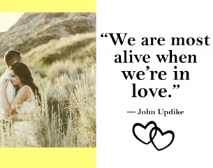Qoutes about Love John Updike