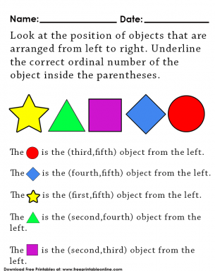 Order of the Shapes