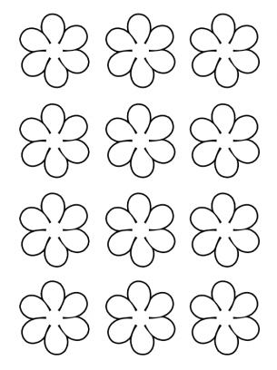 picture about Free Printable Flowers known as Bouquets Pursuits Template
