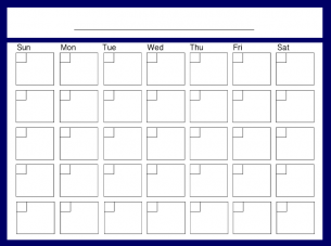 ... Printable Fill In Calendars For Kids | New Calendar Template Site