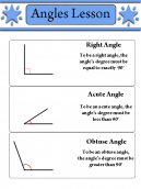 Angles Lesson Worksheet