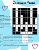 Disney activity crossword puzzle