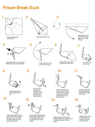 origami nativity folding instructions