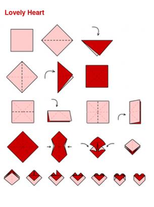 Free Printable Greeting Cards: Free Printable Origami, Kirigami