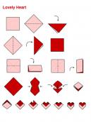 Origami Lovely Heart
