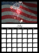 July 2013 Monthly Calendars