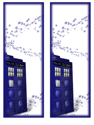 Doctor Who Tardis Bookmark