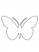 Butterfly Activities Template