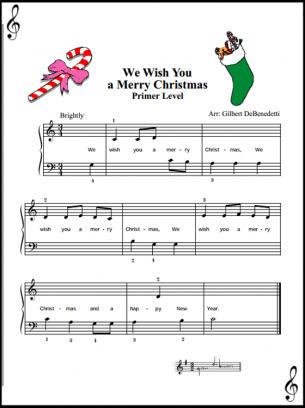 Christmas Piano Music Sheets