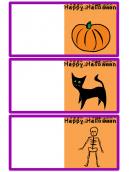 Kids Halloween card