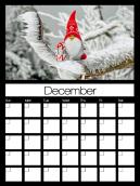 December 2013 Monthly Calendars