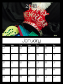 January 2013 Monthly Calendars