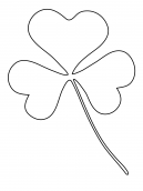 3 Leaf Clover Activities Template