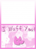 Valentine's I Love You Card