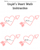 Math Subtraction Worksheets Cupid