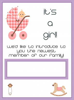Free Printable Baby Shower Invitations To Welcome Your Girl