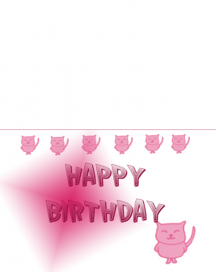 Cats Birthday Cards