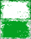 Green and White Cards
