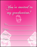 Pink Hello Kitty Invitations