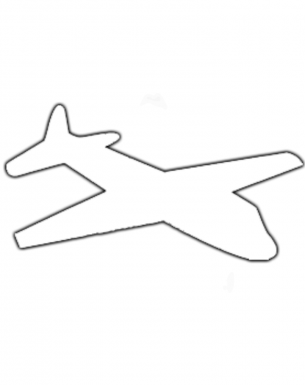 airplane activities template