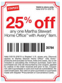 Staples Coupons 25 Off
